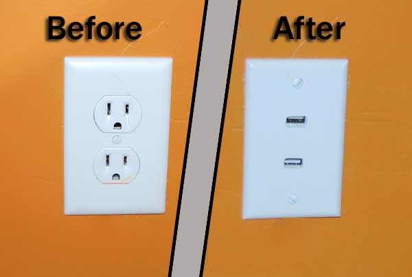 Convert your dull AC outlet into a super-geeky USB version