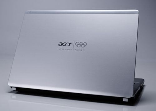 Acer unveils special edition Olympics notebooks and LCD