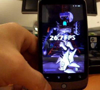 Google Nexus One: 3D Neocore Benchmark [Video]