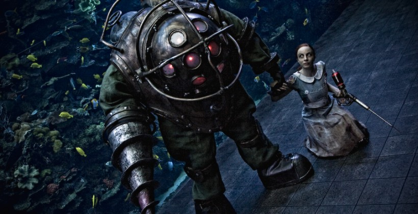 Bioshock Big Daddy costume for sale on eBay