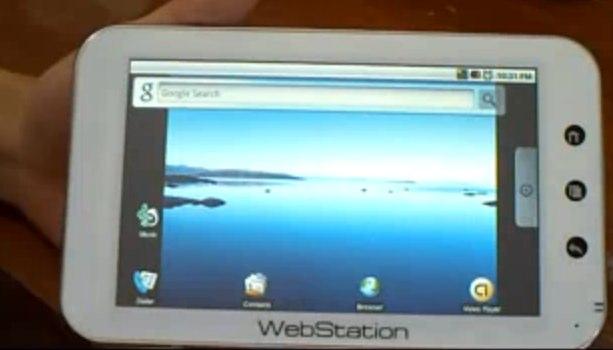 Camangi Webstation gets second video demo