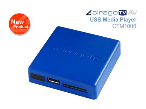 Tiny CTM1000 CiragoTV Mini USB Media Player has HDMI