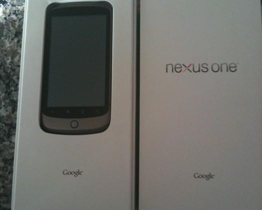 Google Nexus One unboxed, gets video demo