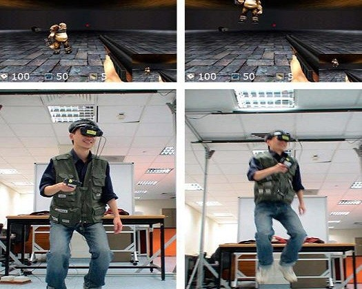 Immersive next-gen gaming system merges virtual and real world