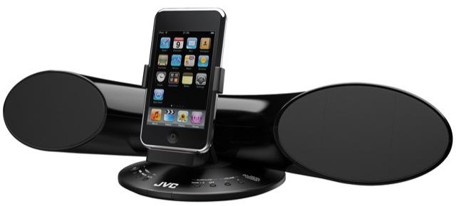 JVC SX-SR3 iPod speaker dock debuts