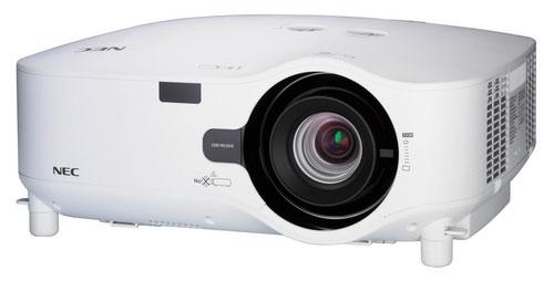 NEC unveils NP2200 and NP1200 projectors for big rooms