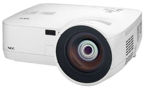 NEC unveils NP510WS and NP610S short throw projectors