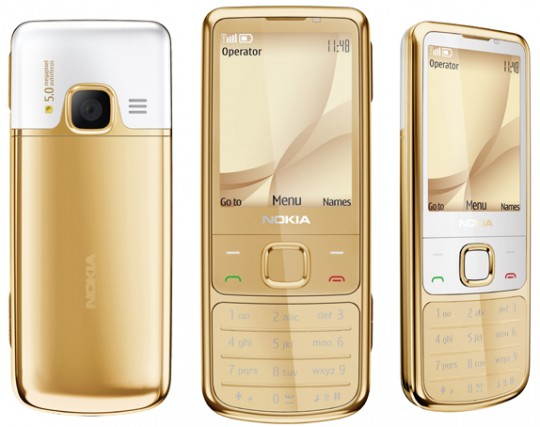 Nokia 6700 Classic Gold Edition: what recession?