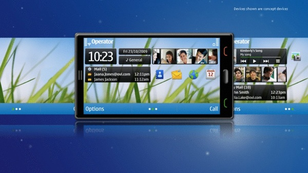 Nokia 2010 Symbian UI update gets previewed