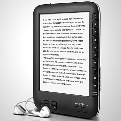 OWEN E1 adds a little fun to E-Readers