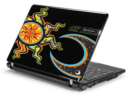 Packard Bell dot VR46 netbook gets Valentino Rossi stylings