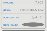webOS 1.3.2 speeds up Palm Pixi; 1.3.5 imminent