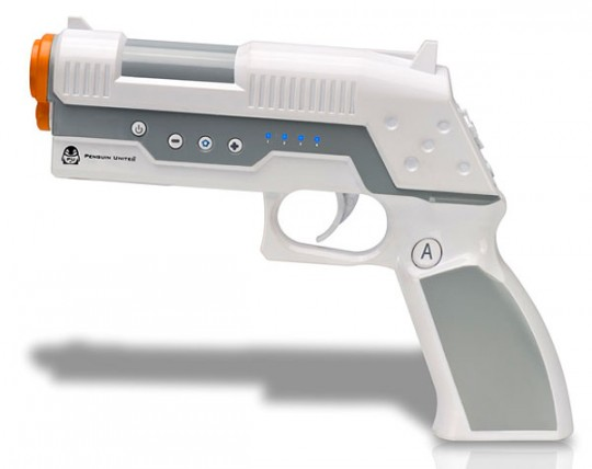Penguin United CrossFire Pistol controller for Wii released