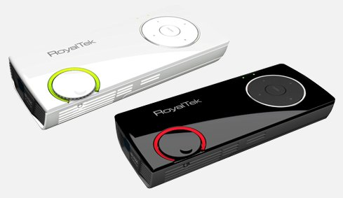RoyalTek RPJ-2000 pico-projector lands; TV tuner model in 2010
