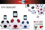 Speakal miSoccer iPod dock is just in time for World Cup