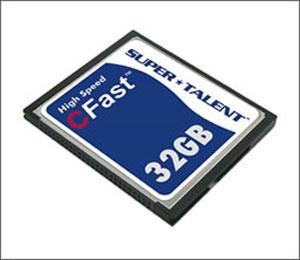Super Talent unveils quick CFast CompactFlash card