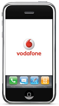 Vodafone to sell iPhone in January 2010