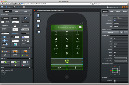 Palm puts webOS development tools on the web