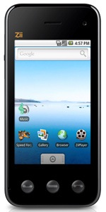 Zii TRINITY 3.5G ZMS-05 dev smartphone announced
