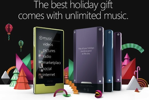 Zune HD purple and magenta versions arrive