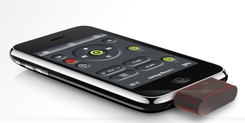 L5 Remote dongle converts iPhone into universal remote