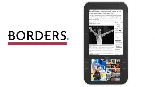 Borders to be eBook Seller for Spring Design Alex eReader
