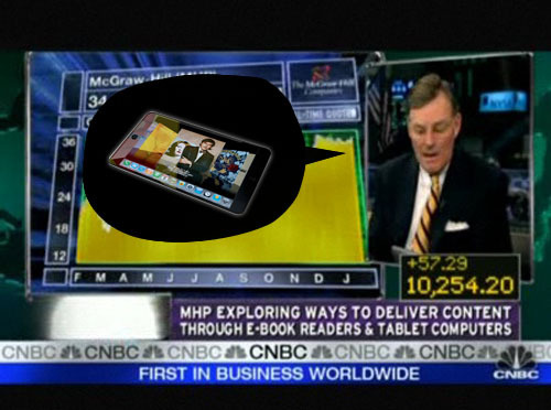 Apple Tablet confirmed for Wednesday by McGraw-Hill CEO, with iPhone-styled OS [Video]
