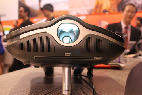 MSI demoes 1080P Projector PC concept