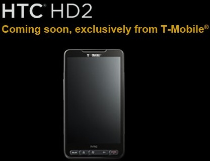 T-Mobile HTC HD2 in March; myTouch Slide May 17th?