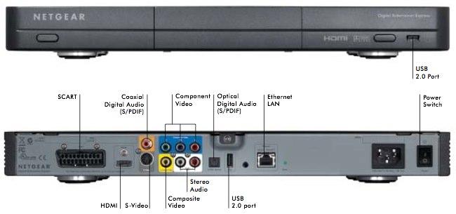 Netgear Digital Entertainer Express EVA9100 1080p media