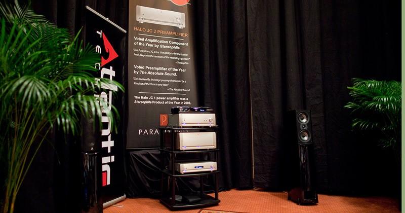 Parasound Halo JC3 Phono Preamp & Atlantic Technology AT-1