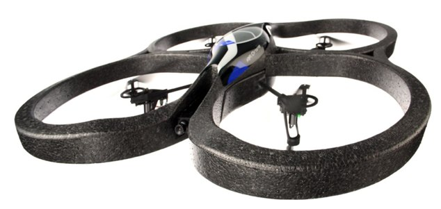 Parrot AR.Drone WiFi helicopter gets augmented reality iPhone control