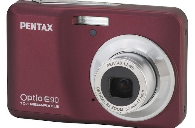 Pentax Optio I-10, H90 and E90 get official