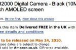Samsung WB2000 10MP digicam tipped for May launch