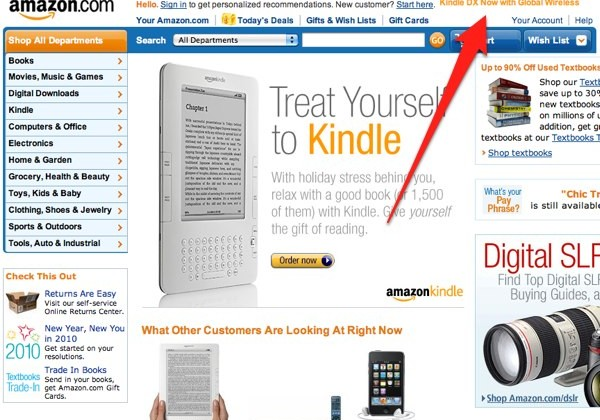 Amazon Kindle DX Global Wireless looks imminent