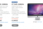 Apple 27-inch iMac orders face three week delay