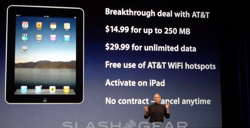iPad 3G data plan the real star of Apple's show?