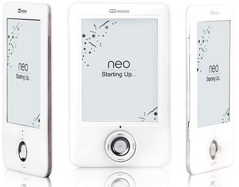 BeBook Neo ereader: WiFi and Wacom touchscreen