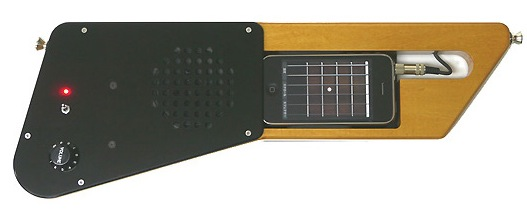 Bird Electron Ezison 100 iPhone guitar is crying out for DIY remake