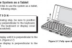 Fujitsu UH900 manual prompts convertible tablet version confusion