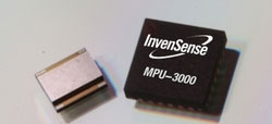 InvenSense MPU-3000 is world's first motion processing unit for smartphones