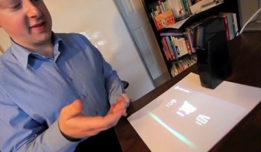 Light Touch projected touchscreen gets daylight demo [Video]