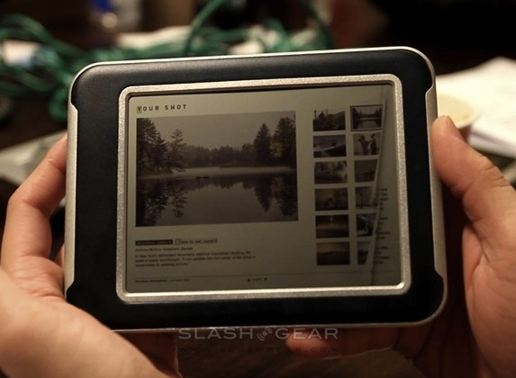 Qualcomm mirasol color ereader hands-on