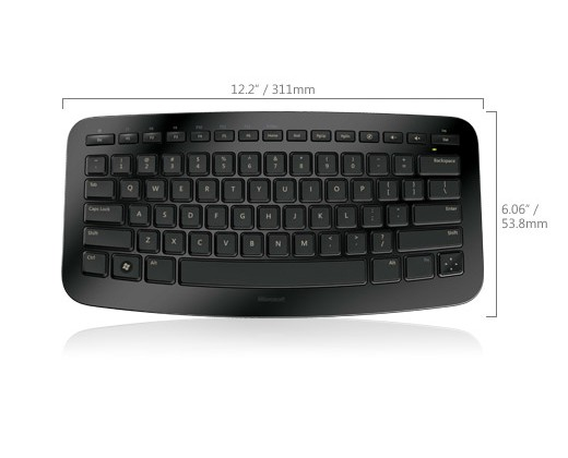 Microsoft Arc Keyboard: Marvelous Mini