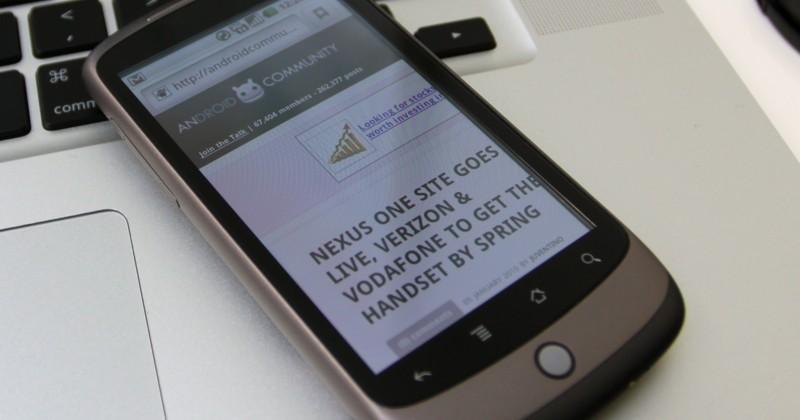 Google Nexus One hands-on