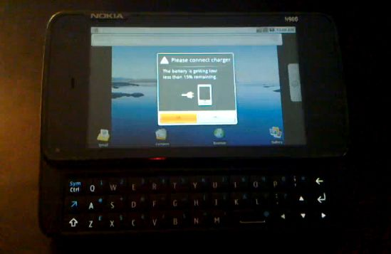 Nokia N900 Android dual-boot hack [Video]