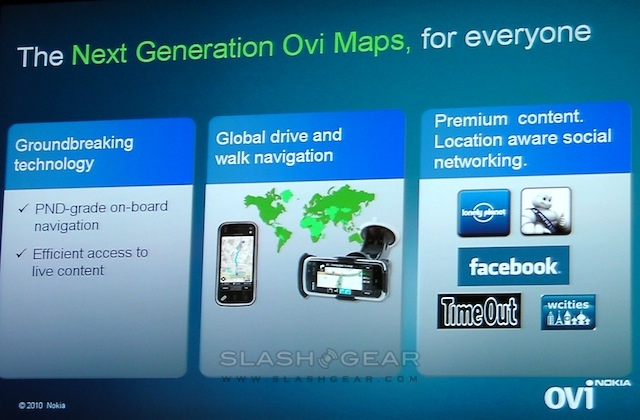 Nokia Ovi Maps now free: turn-by-turn, offline access