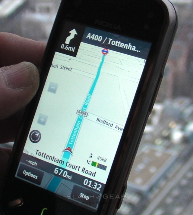 Nokia Ovi Maps now free: turn-by-turn, offline access & travel
