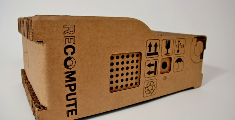 Recompute cardboard computer now in production