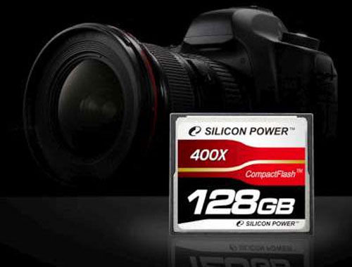 Silicon Power unveils world's first 128GB 400X CF card